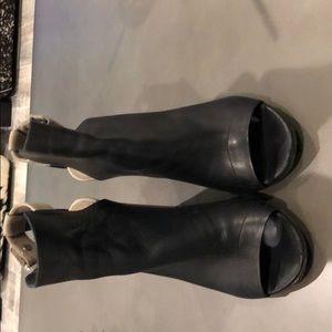 Vince high heel booties